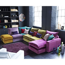 If Bright And Colourful Is Your Thing Then Something Like The Jester Sofa Above Would Be A Great Option Available From Sterling Furniture S Range Of